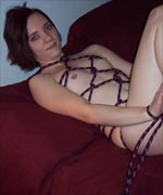 Sexy Teenagers Roped and Ready