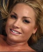 Flower Tucci is new to BDSM and bondage, but she's well known for her prodigious squirting talents. Chanta Rose gags her, ties her to a wall, and flogs her front