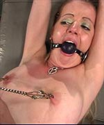 Anita really had no idea what she was getting herself into when she visited the kinky clinic at Fucked and Bound. TJ takes her through the introductions of BDSM and fucks her hard while she's in tight rope bondage