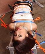 Sexy young Carmens gets strapped down extremely tight and restrained for her first time by Nathan