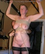 Slavegirl Mystique gets tied up